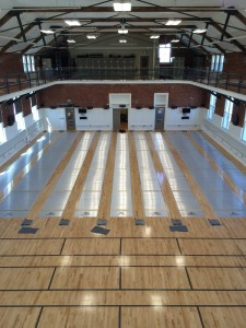 our new fencing salle