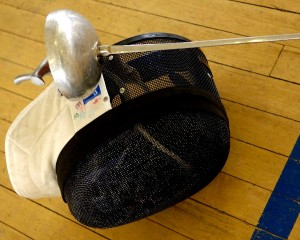 epee and mask